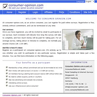 Consumer-Opinion.com Surveys Website